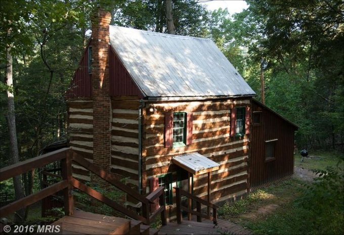 1850's handmade cabin