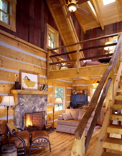 Cataloochee Cabin inside