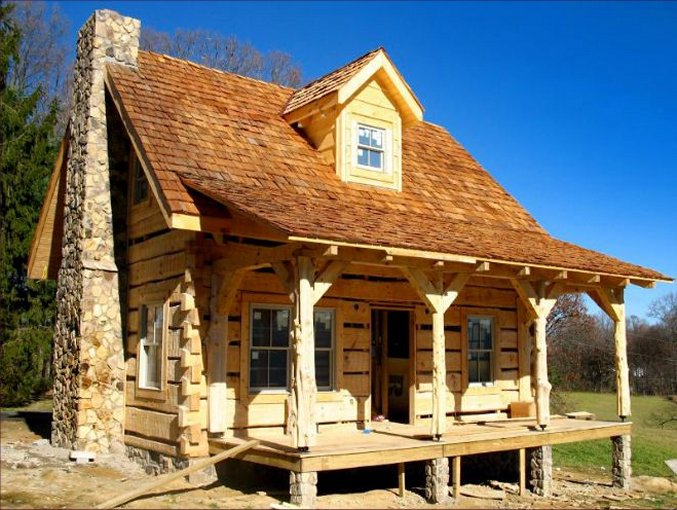 Cataloochee cabin is a rustic dream come true cozy homes for Log home plans canada