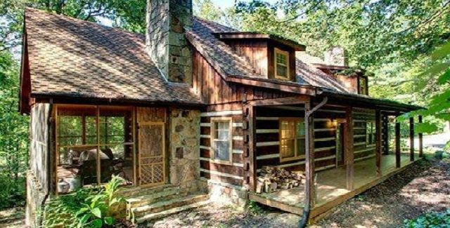 Rustic Log Cabin of Blackberry Landing