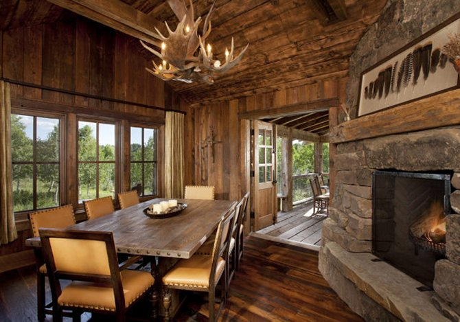 Awesome Log Home With Rustic Interior Cozy Homes Life