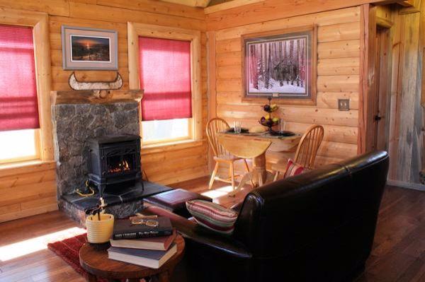Charming cabin inside