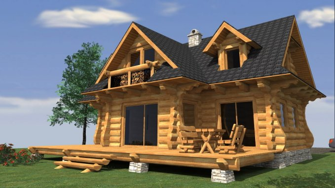 European Style Log Cabin Cozy Homes Life