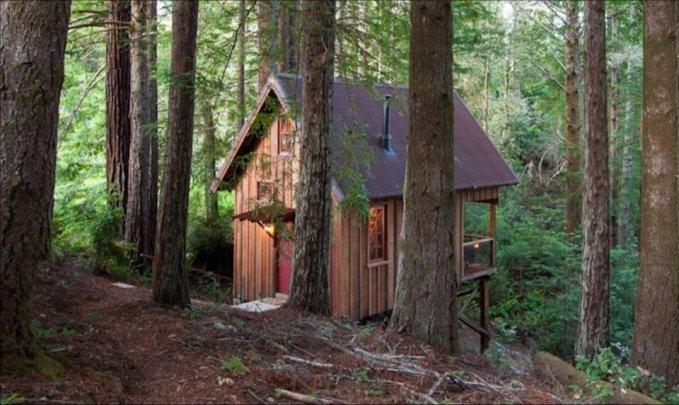Handcrafted cabin hideaway