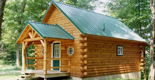 White Pine Log Cabin With Cozy Interior Cozy Homes Life