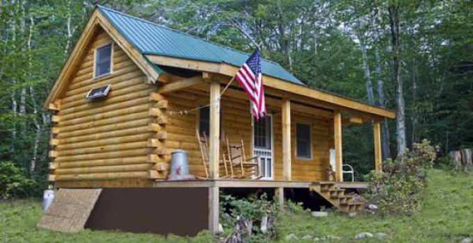Tiny homes cozy homes life for Square log cabin kits
