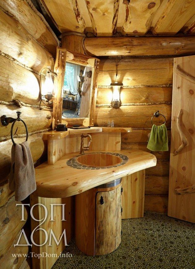Log cabin design interior