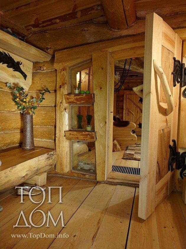 Unusual Cabin Interior Design : Amazing log cabin with unique interior details page of