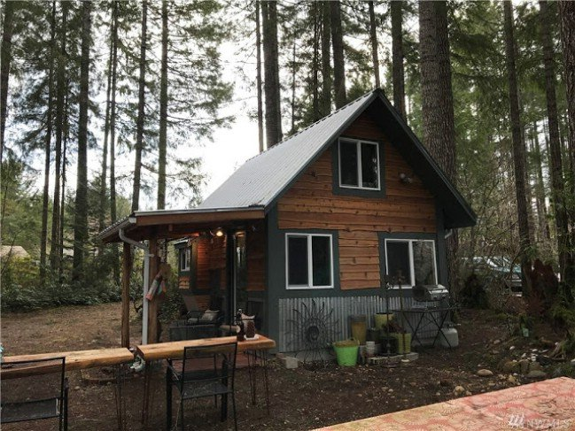 Cozy tiny cabin for sale in olympic national park cozy Tiny cabin