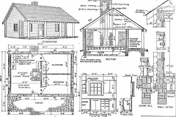 10 Cabin Floor Plans
