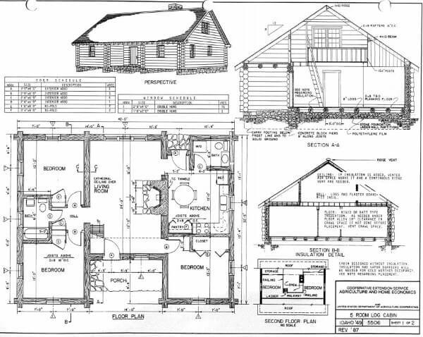 10 Cabin Floor Plans - Page 3 of 3 - Cozy Homes Life