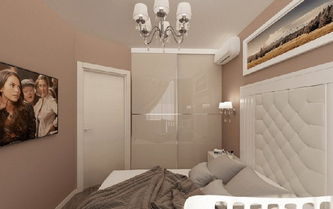 Best small home modern design bedroom