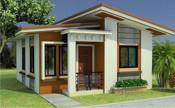 best small home modern design - 13+ Small And Modern House Design Pics