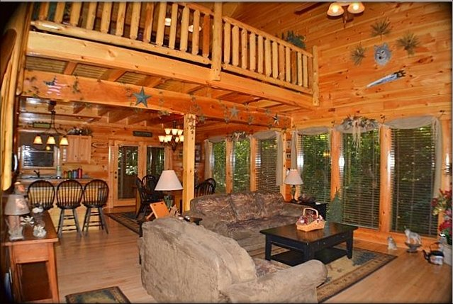 Mountain Spirit log cabin