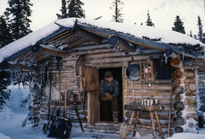 Famous alaska log cabin hand built by richard proenneke for Alaska log home builders