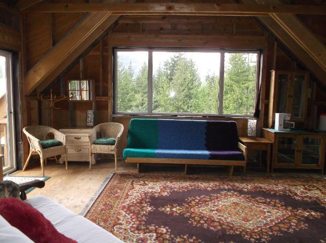 Cozy cabin loft