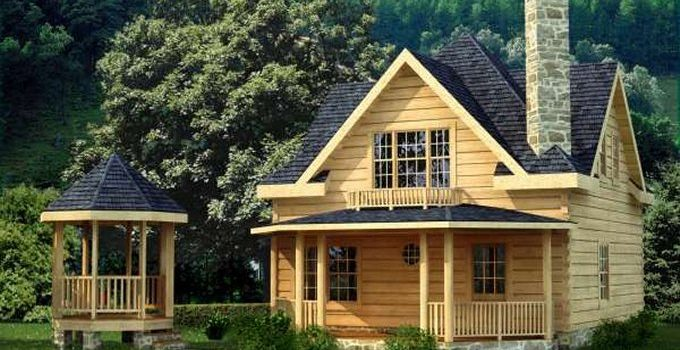 Cozy homes life beautiful log homes cabins tiny homes for Country cabin kits