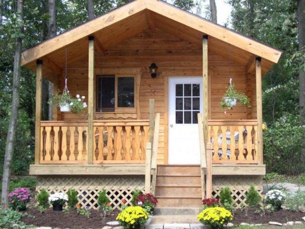 Serenity log cabin