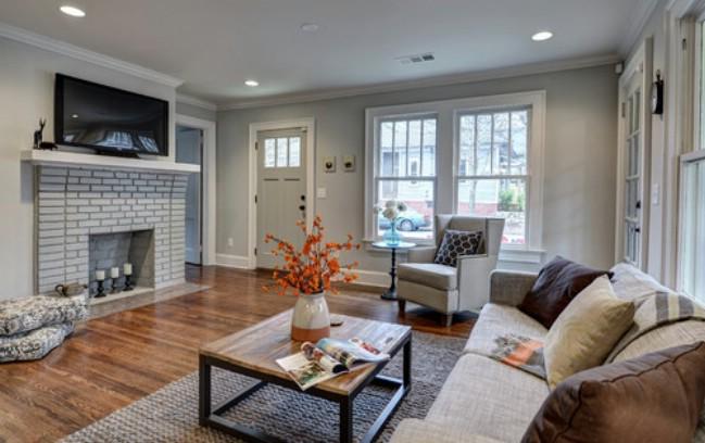 Atlanta tiny house interior