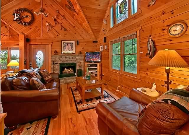Custom Built Log Cabin Cozy Homes Life
