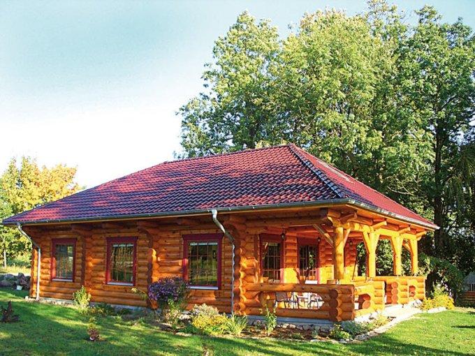cozy log cabin with floor plan page 2 cozy homes life