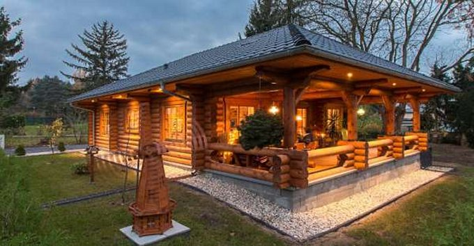 Cozy Log Cabin With Floor Plan Cozy Homes Life