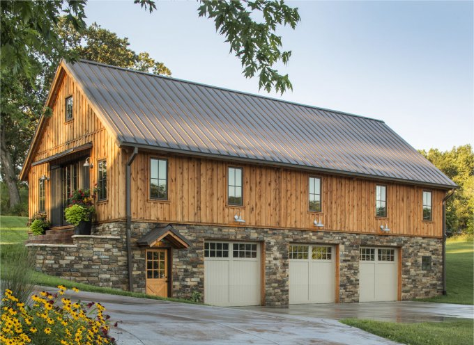 Barn style home