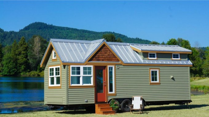 Country style tiny home