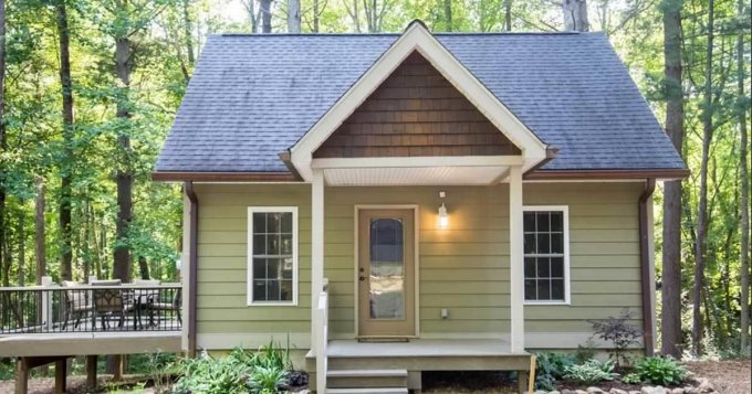 Woodland Cottage In The Smokey Mountains Cozy Homes Life