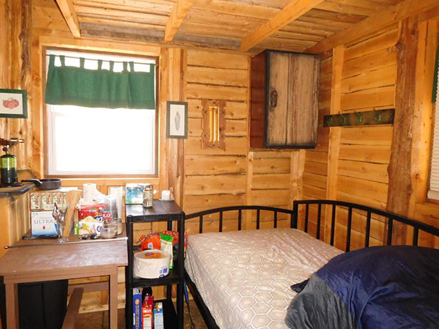 Cabin for sale interior
