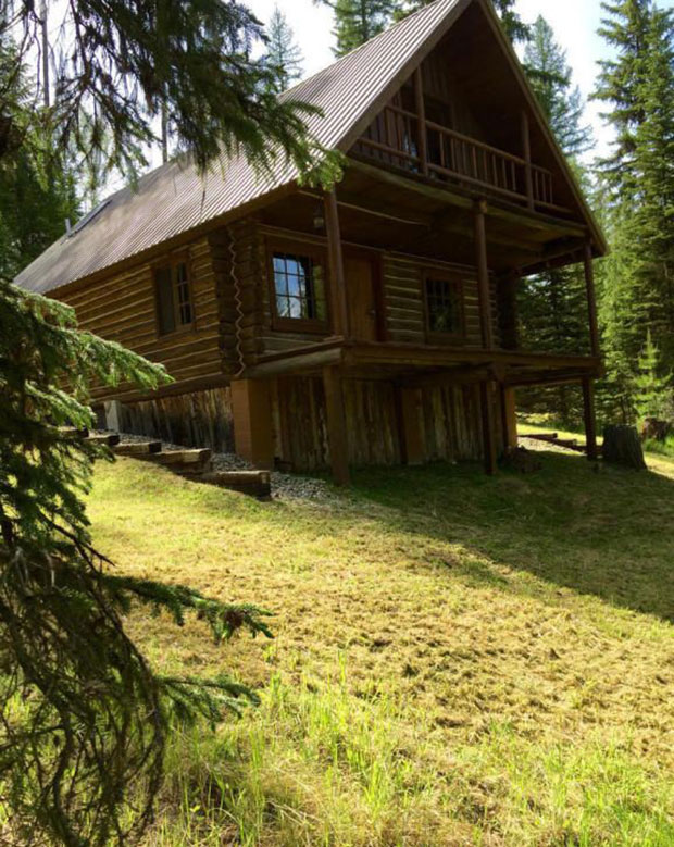 Montana log cabin for sale cozy homes life for Cabin builders montana