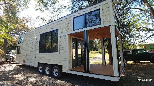 Modern cozy tiny house