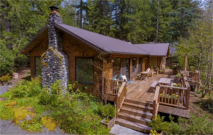 Mount Rainier cabin