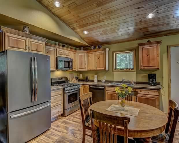 Country cabin interior