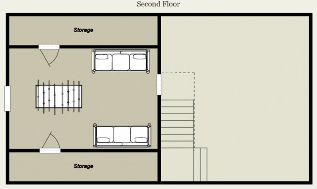 Mountain king cabin floor plan