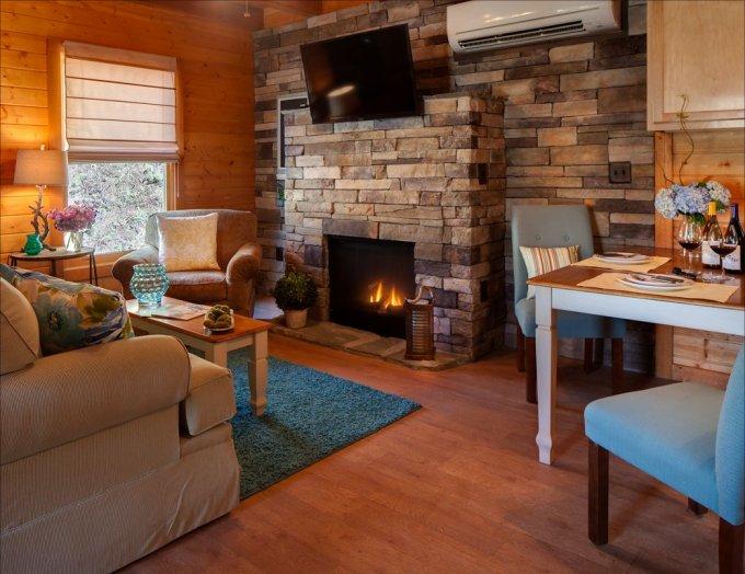 Nice cabin interior