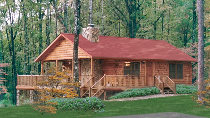 Old fashioned lakehouse log cabin for 34 000 cozy homes for Lakehouse construction