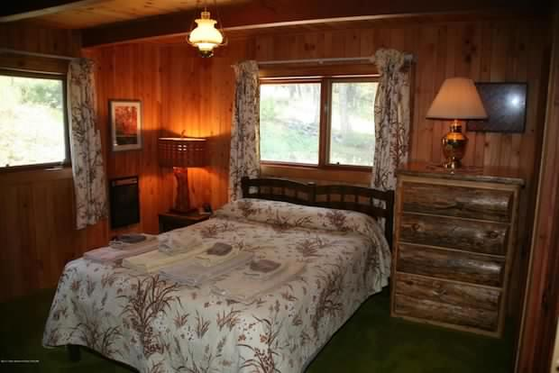 Cabin in Wyoming inside