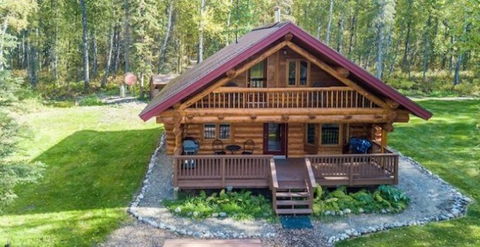 Cozy log cabin