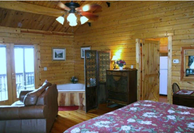 Trout run log cabin