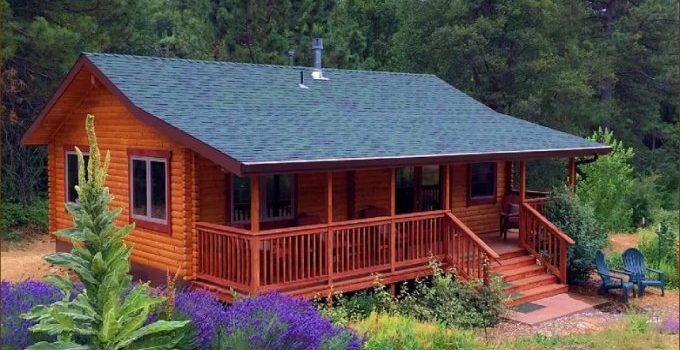 Trout run log cabin