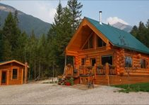 Golden rental cabin