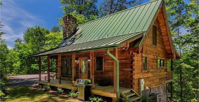 Appalachian mountain cabin