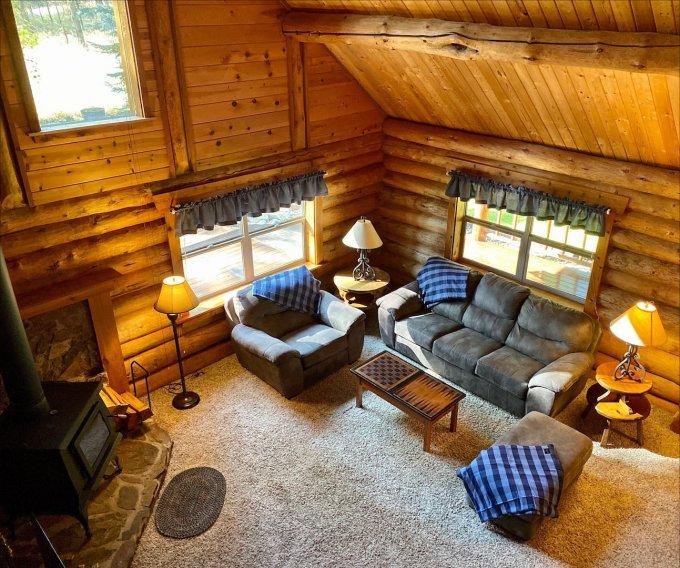 Mountain cabin in Idaho