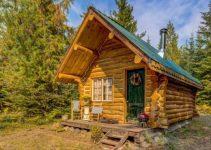 Cozy log cabin