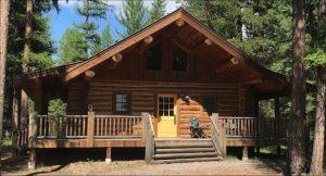Log cabin MT