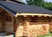 Cute cozy log cabin