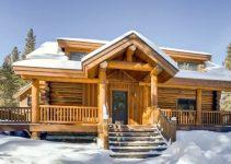 Log cabin in Colorado
