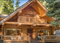 Log cabin at Lake Tahoe