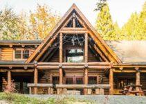 Log cabin retreat
